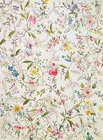 Wild flowers design for silk material, c.1790