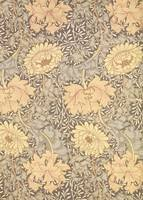 'Chrysanthemum' wallpaper design, 1876