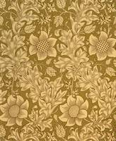 'Fritillary' wallpaper design, 1885