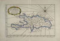 Vintage Map of The Dominican Republic (1750)
