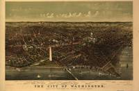 Vintage Pictorial Map of Washington D.C. (1892)