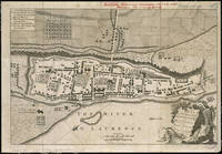 Vintage Map of Montreal (1758)