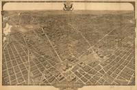 Vintage Pictorial Map of Washington D.C. (1921)