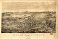 Vintage Pictorial Map of San Jose CA (1869)