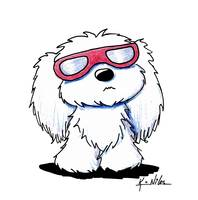 Maltese In Doggles