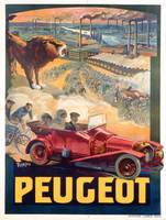 Advertisement for Peugeot