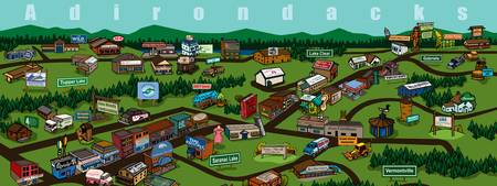 Adirondack Businesses by Nip Rogers