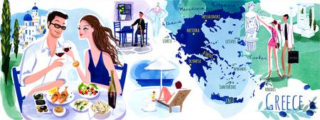Greece by Annabelle Metayer