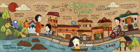 Slow Life in Chiang Khan by Premwadi Khang-ae