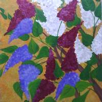Barbaras Lilacs Art Prints & Posters by Elizabeth Janus