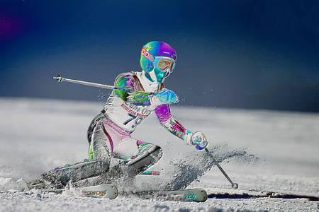 Snow Ski Racing