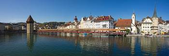 Panoramic View of Historic Lucerne