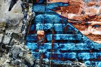 BLUE BRICK DECAY, EDIT C by NAWFAL JOHNSON NUR