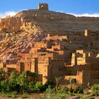 kasbah Art Prints & Posters by cynthia willis