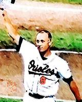 Cal Ripken Jr MLB Baltimore Orioles Art