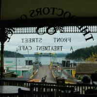 Ferry Dock by John Tribolet