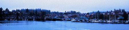 Friday Harbor Panorama