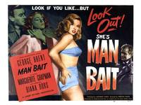 Man Bait Vintage Movie Poster