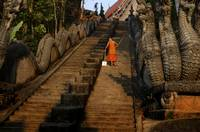 Monk Sweeping the Dragon Stairs