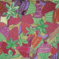 strawberries I Art Prints & Posters by Krista Hutt