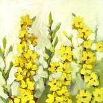 Plein Air Garden Series, No 2 by Jennifer Lommers