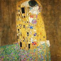 """""""Gustav Klimt The Kiss"""" by masterpiecesofart"""