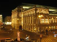 Wien - State Opera House - view from Augustinerbas