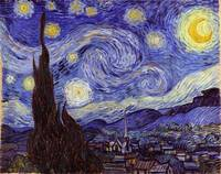 Vincent Van Gogh - Starry Night - Sternennacht