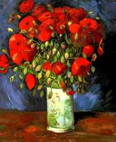 Vincent Van Gogh - Vase With Red Poppies