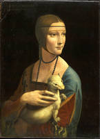 Leonardo da Vinci - Lady With An Ermine - Portrait