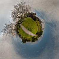 Irish house little planet