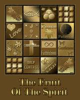 Fruit Of The Spirit Poster Black/Brown
