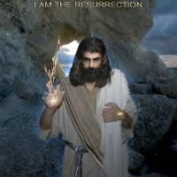 Jesus- I Am The Resurrection Art Prints & Posters by Alex Acropolis Calderon