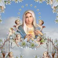 Mary In Heaven
