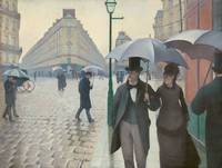Paris Street on a Rainy Day by Gustave Caillebotte
