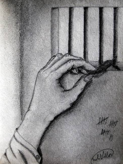 Stunning Quot Jail Quot Pencil Drawings And Illustrations For Sale
