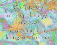 Affirmation: Joyful Things 8