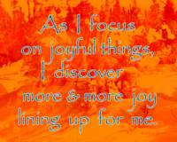 Affirmation: Joyful Things 7