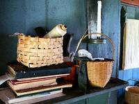 Books and Baskets