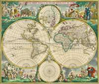 World Map 1670