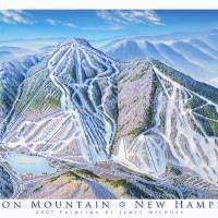 """Cannon Mountain"" by jamesniehuesmaps"