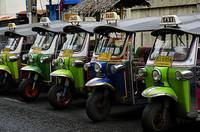 Colorful Tuk Tuks Bangkok