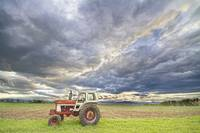 Turbo Tractor Country Evening Skies