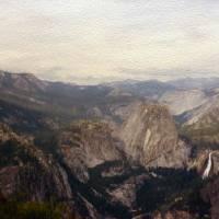 Panoramic Yosemite by John Tribolet