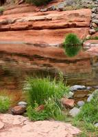 Still Waters at Slide Rock by Carol Groenen