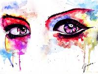 Watercolor Eye II
