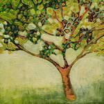 Plein Air Garden Series, No 7 by Jennifer Lommers