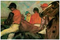 Jockeys (1885) by Edgar Degas