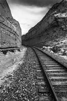 Railroad in the Canyon