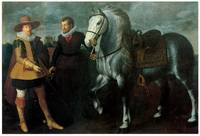 Portrait of a Gentleman with his Horse and Groom